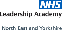NHS North East and Yorkshire Leadership Academy